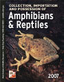 Collection, Importation & Possession of Amphibians & Reptiles